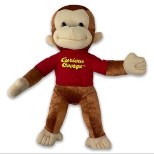 "CURIOUS GEORGE 12"" Large Plush Curious George"